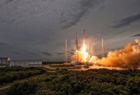 SpaceX : le lancement de la Falcon 9 qui transporte le premier « satellite...