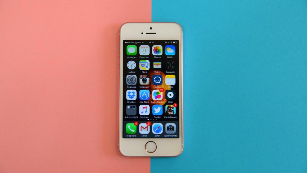 534b549364fe1b Test de l iPhone SE   puissance et élégance en taille réduite - Tech -  Numerama