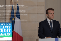 Make Our Planet Great Again : la plateforme de l'Élysée pour attirer les scientifiques...